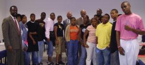 congressmen-chaka-fatta-and-president-arnold-cheyney-university-2006